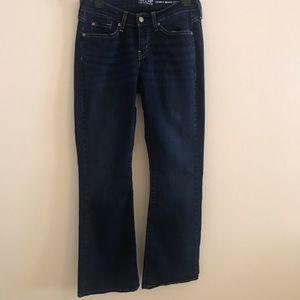 Levis curvy boot cut jeans